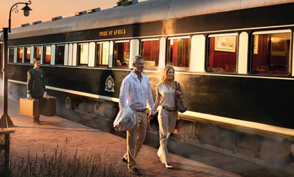Rovos Rail Golf Safaris
