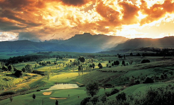 South African golfing holidays