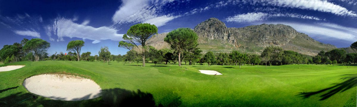 Golf courses in Cape Town.