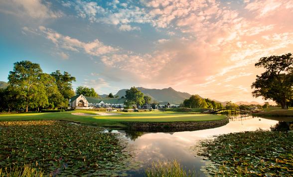 Golfing holidays at Fancourt Golf Estate