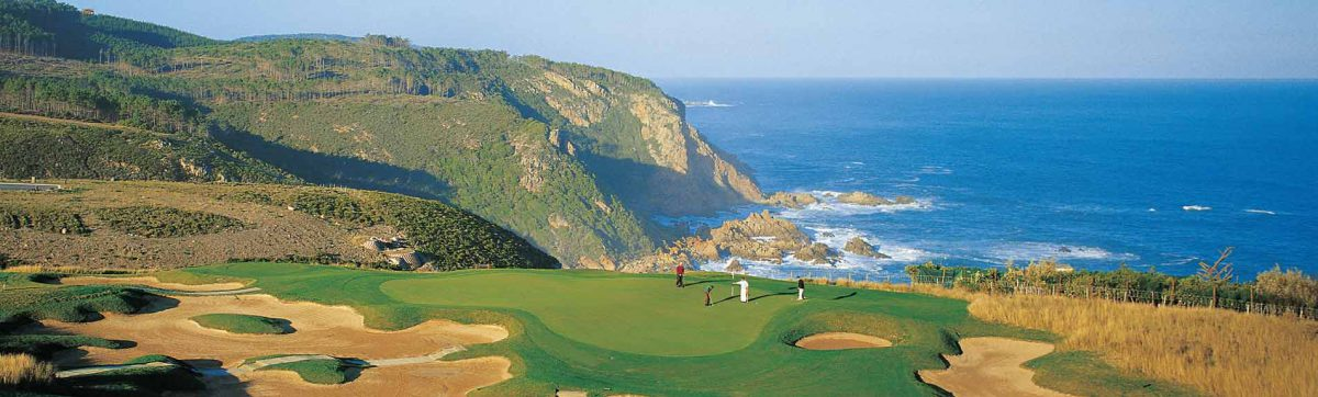 Golf courses on the Garden Route.