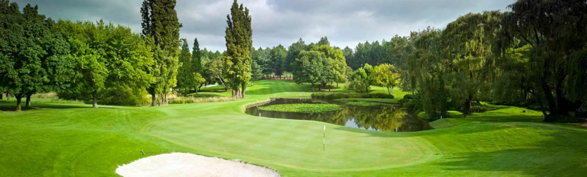 Top 10 golf courses in South Africa.