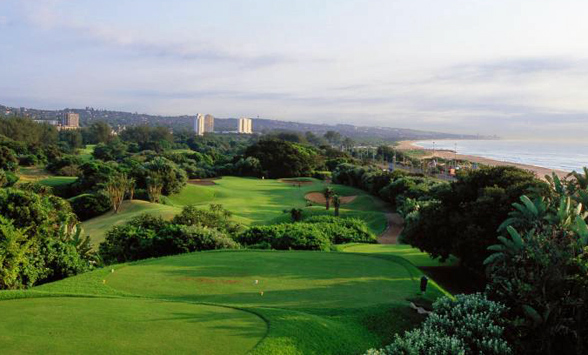 Golf courses and hotels in and around Durban