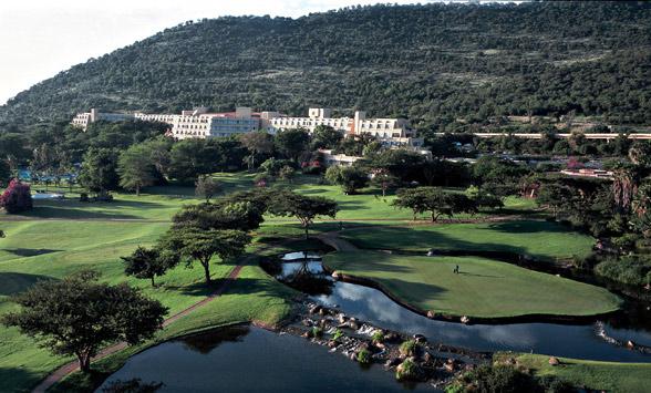Sun City Golf, South Africa.