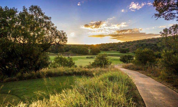 Views of the golf courses in the Waterberg area