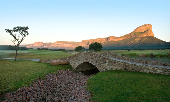 Combined safari and golf holidays.