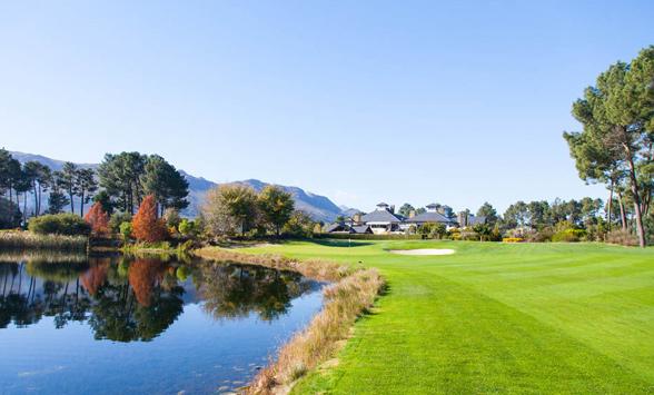 Cape Winelands Golf Courses.