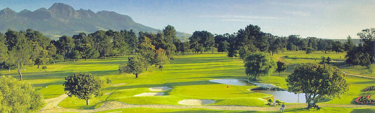 Cape Winelands golf courses.