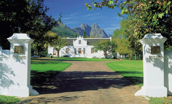 Wine tasting and golf in the Cape Winelands.