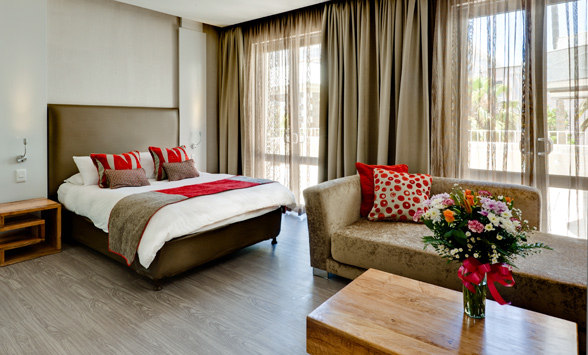 Budget hotels in Cape Town.