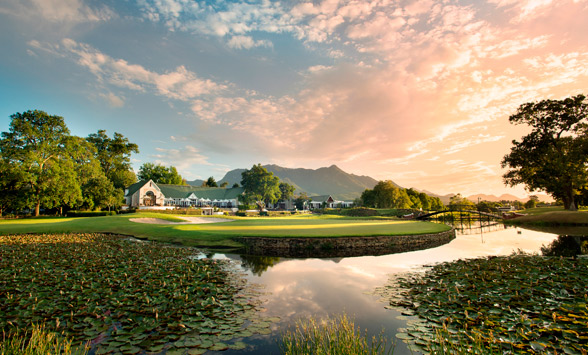 The Links Golf Course at fancourt.