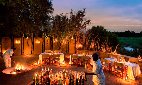 Luxury golfing and safari in the Kruger region.
