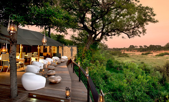 Tented camps in the Kruger region.