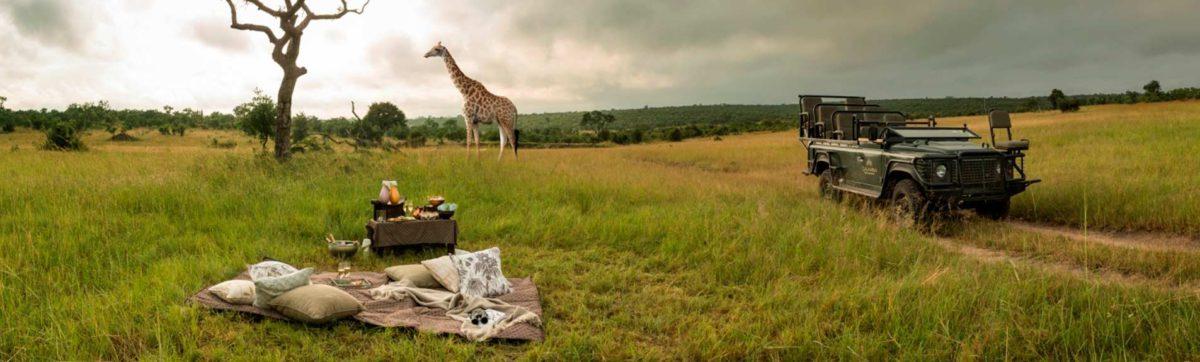 Safari lodges in the Kruger region.