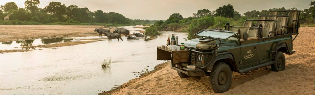 luxury safari lodges in the Kruger