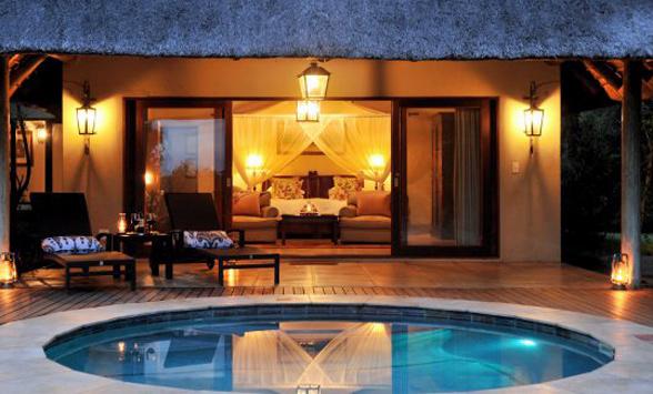 Honeymoon safari lodges in South Africa.