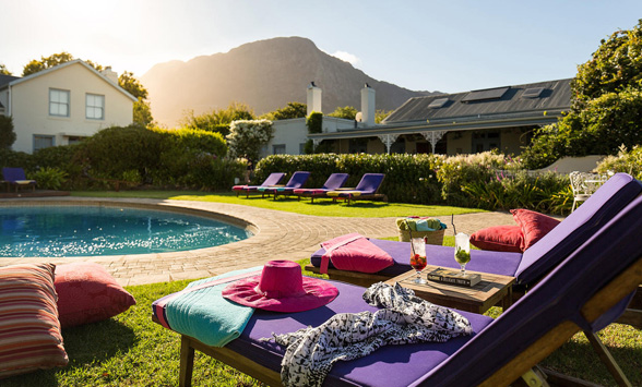 Gourmet food and accommodation in the Cape Winelands.