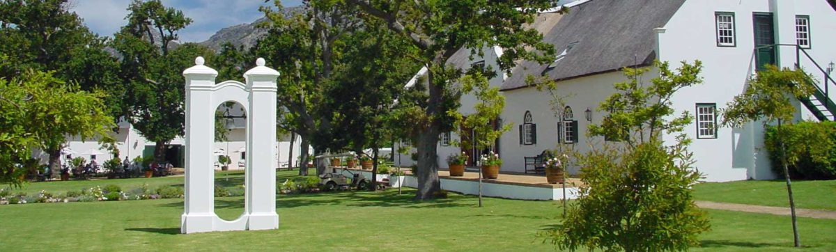 Hotels in Stellenbosch, Cape Winelands.