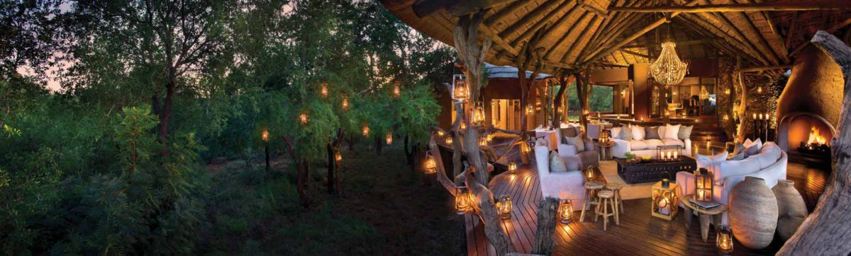 Dining under the Stars at Madikwe Safari Lodge.