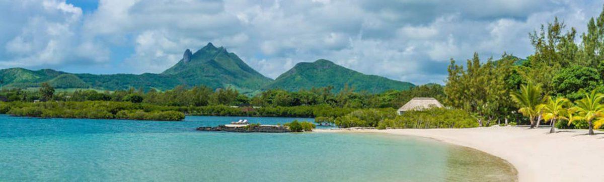 views across the bay of the Anahita Resort