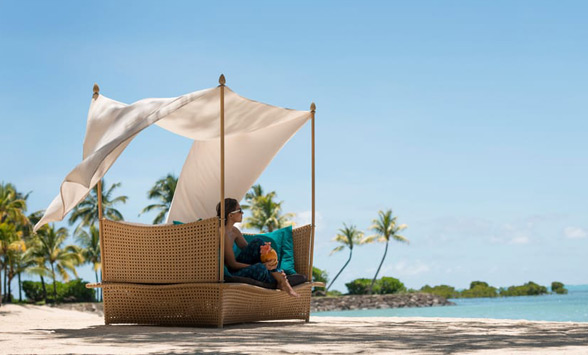 luxury villas and accommodation at the Aanhaita resort in Mauritius